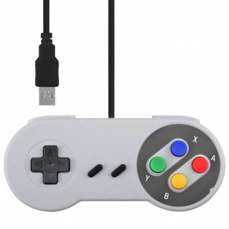 CONTROLADOR RETRO SNES GAMEPAD USB