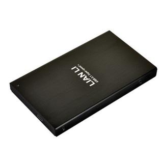 """LIAN LI EX-10CB CAJA EXTERNA HD 2.5"""" USB 3.1 Type-C NEGRA"""