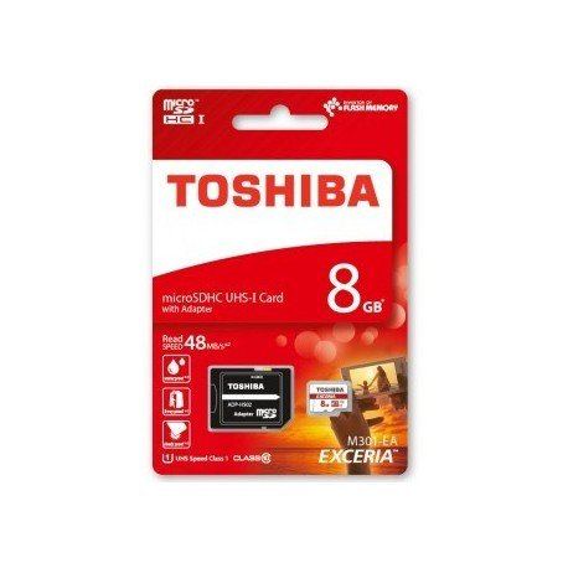 TOSHIBA MICROSDHC UHS-I 8GB CLASS10