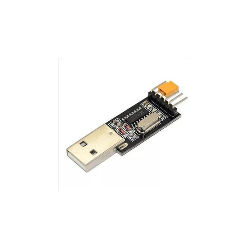 CONVERSOR USB A SERIE RS232 UART TTL 3.3V/5V - CH340G