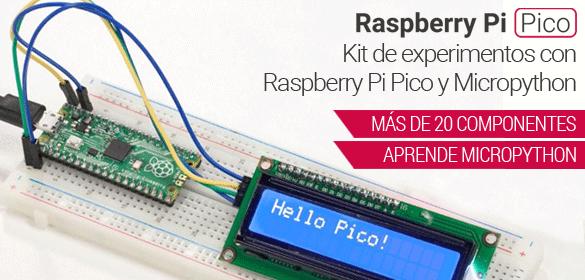 Raspberry Pi Pico - Kit experimentos con Micropython