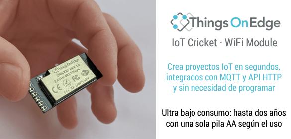 Things On Edge IoT Cricket