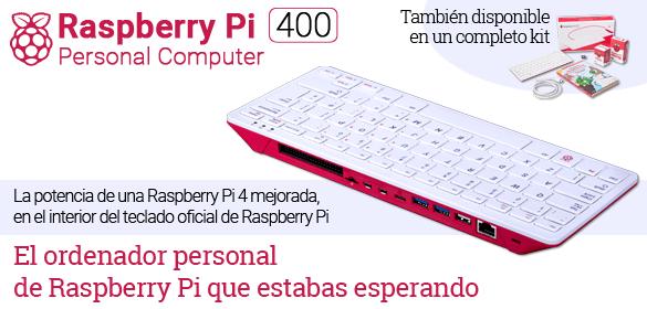 Raspberry Pi 400 - Ordenador Personal