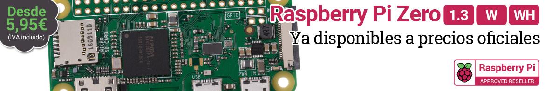 Raspberry Pi Zero ya disponible a precios oficiales