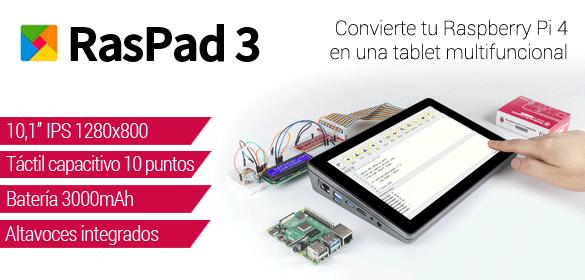 Raspad 3 - Tablet para Raspberry Pi 4