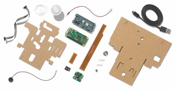 Contenido del Google AIY Vision Kit