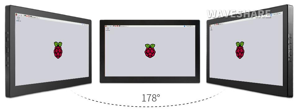 "Monitor 13,3"" IPS táctil para Raspberry Pi"
