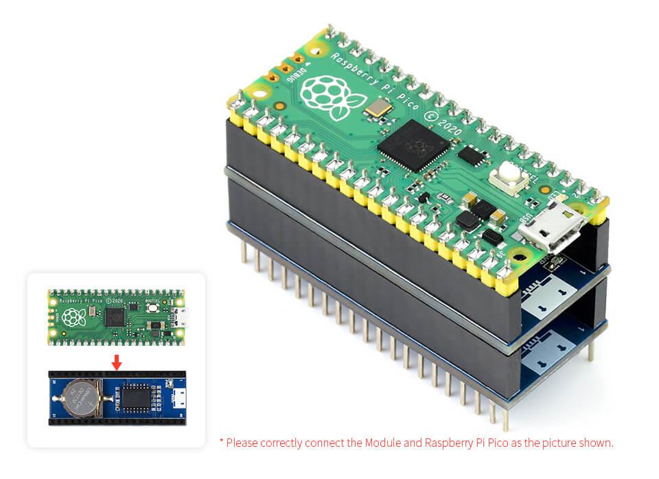 DS3231 en Raspberry Pi Pico