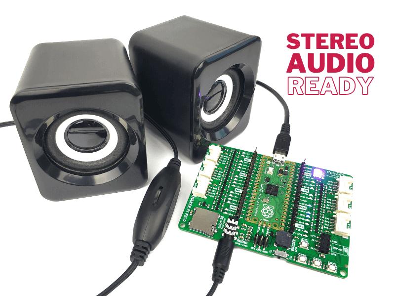 Maker Pi Pico - Stereo Audio Ready
