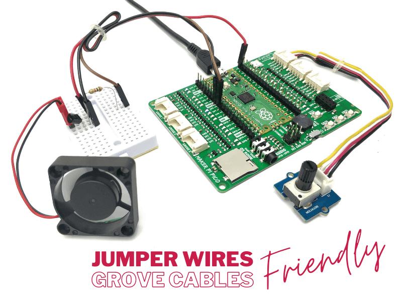 Maker Pi Pico - Grove Cables friendly