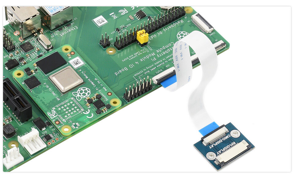 Adaptador DSI para Compute Module IO Board