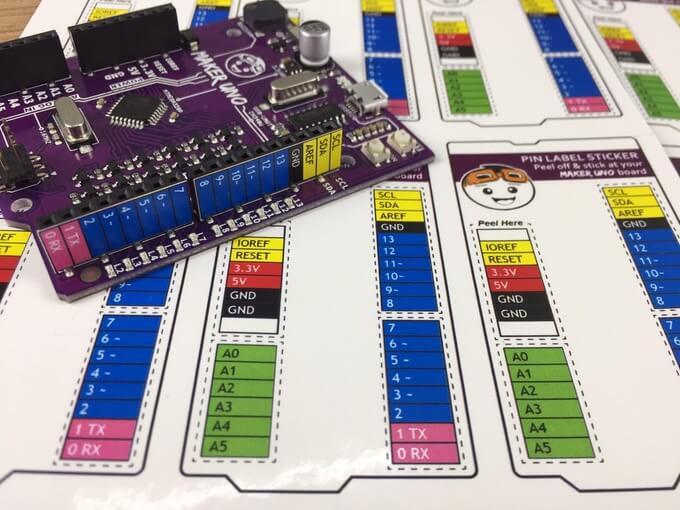 Maker UNO Edu Kit (Arduino Compatible)