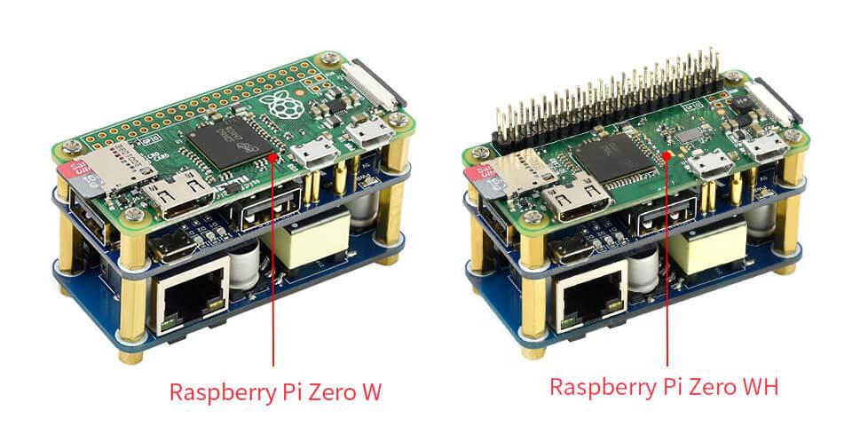 Diseñado para Raspberry Pi Zero, compatible con Zero / Zero W / Zero WH